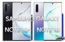 Samsung Galaxy Note 10+ and Note 10 press renders leaked