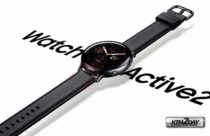 Samsung Galaxy Watch Active 2 official image appears online