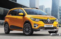 Renault TRIBER, a budget MPV with modular seating launched