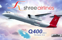 Shree Airlines adds Q400 Turbo Prop into its fleet