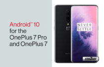 OnePlus 7 and 7 Pro start to receive stable Android 10