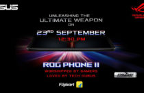 Asus ROG Phone II set to launch on Sept 23 in Indian market