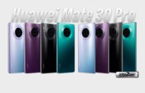 Huawei Mate 30 Pro live pictures leaks in all colors