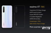Realme XT 730G With Snapdragon 730G SoC, 64 MP Quad-Camera Setup Unveiled