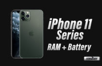 iPhone 11 Series – RAM and Battery Capacity Revealed
